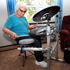 Grandma Drummer Identity Revealed