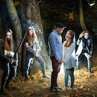This Actually Happened: Couple Encounters Black Metal Band in the Woods During Engagement Photoshoot