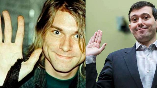 Martin 'Pharmadouche' Shkreli: Kurt Cobain Would've Loved Me If He Was Still Alive