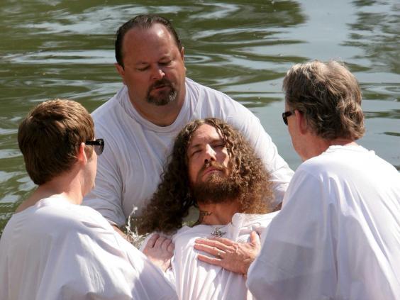 head baptized korn