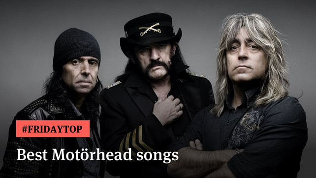 Friday Top: 20 Best Motörhead Songs Of All Time