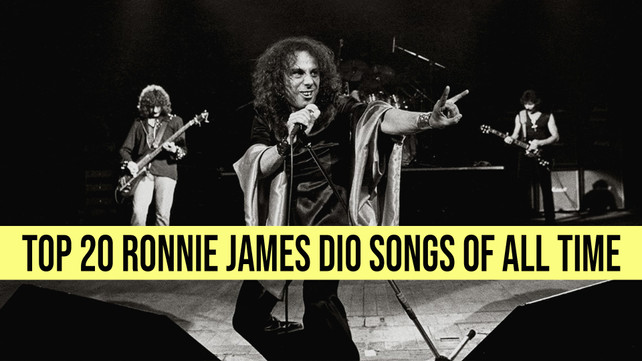 Top 20 Best Ronnie James Dio Songs Of All Time