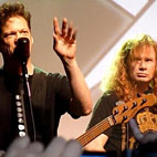 Mustaine Confirms Live Metallica Jam With Newsted