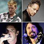 QOTSA, Dave Grohl, NIN Closing Grammy Awards 2014 With All-Star Jam