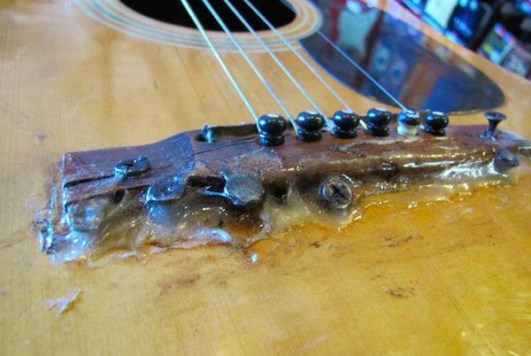 Guitar Repair Gone Wrong