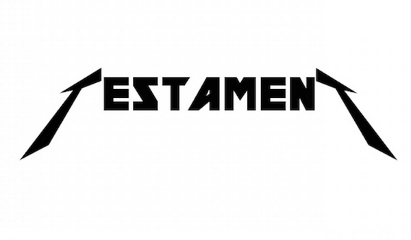 Metallica Font: Here's What 20 Iconic Band's Logos Would Look Like ...