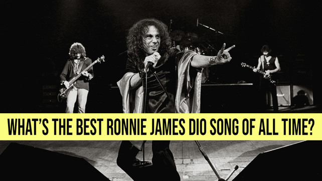 What's The Best Ronnie James Dio Song Of All Time?