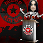 Ozzy Named President Of Heavy Metal
