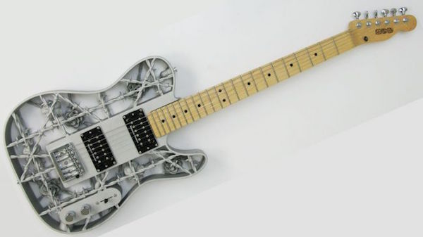 They're Now Making 3D-Printed Aluminum Guitars, Here's What It's