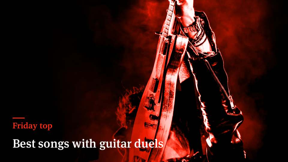 Friday Top: 25 Best Songs With Guitar Duels