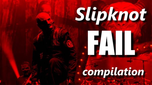 Watch: Here's a Compilation of Slipknot Failing Onstage