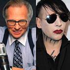 Larry King Interviews Marilyn Manson