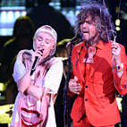 Miley Cyrus, Flaming Lips Enter Studio Together for Beatles Cover
