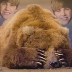 Russian Fisherman Saved From Vicious Bear Attack by His Justin Bieber Ringtone