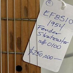 History Lesson: Meet the First Fender Stratocaster Ever Made