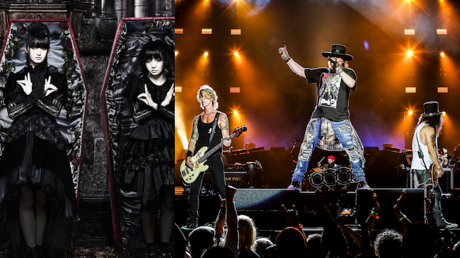 Babymetal to Open for Guns N' Roses on Upcoming Tour