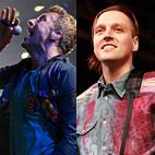 Coldplay's Chris Martin DJ'd for Arcade Fire