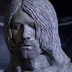 Weird Crying Kurt Cobain Statue Unveiled in Frontman's Hometown