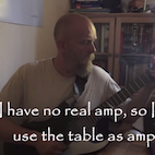 Varg Vikernes Posts Burzum Playthrough Videos, Uses Table as Amp for $40 Guitar