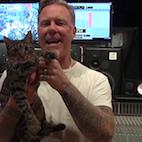 Metallica's Hetfield: 'We're Afraid to Jam With Certain People, We're Not Great Musicians'