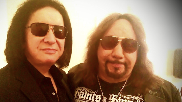 Classic KISS Reunion at Hand? Gene Simmons Crashes Ace Frehley Show, Hang Out Backstage