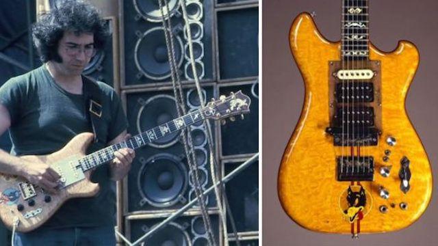 jerry garcia 39 s 39 wolf 39 guitar is up for sale music news ultimate guitar com. Black Bedroom Furniture Sets. Home Design Ideas