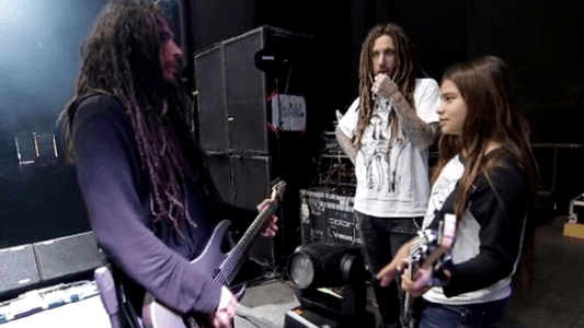 Korn: How Rob Trujillo's 12-Year-Old Son Ended Up Playing Bass for Us