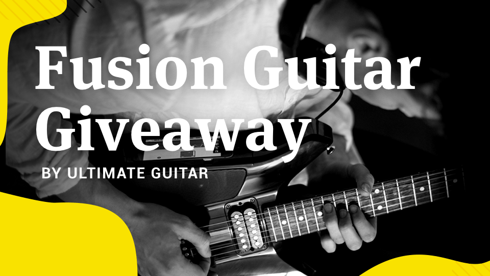 ultimate guitar giveaway fusion guitar giveaway 8202