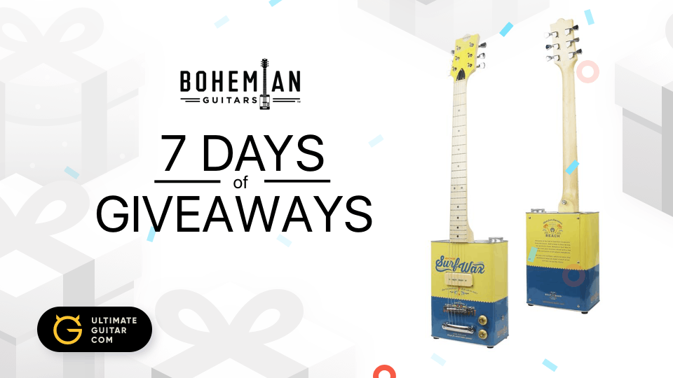ultimate guitar giveaway 7 days of giveaways ultimate guitar 6270